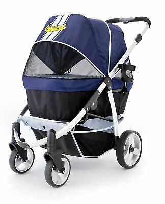Pet Stroller,IPS-06/Navy-Blue, dog carrier, trolley, Trailer, Innopet, Buggy ...