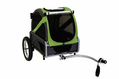 DoggyRide Mini Dog Bike Trailer, Easily Converts To Stroller (With Optional K...
