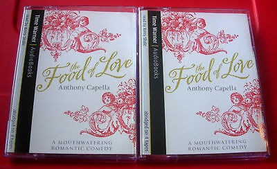 Anthony Capella Food Of Love 4-Tape Audio Book Kerry Shale