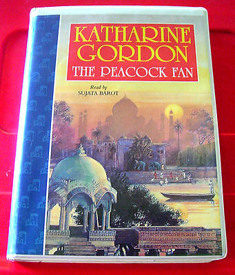 Katharine Gordon The Peacock Fan 5-Tape UNABR.Audio Book Sujata Barot Romance