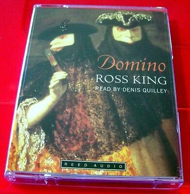 Ross King Domino 2-Tape Audio Book Denis Quilley Historical