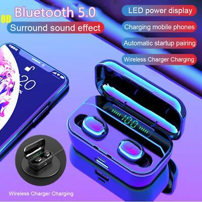 G6S BT5.0 Mini Earbuds TWS Wireless In Ear Sport Stereo Earphone LED Headset MIC