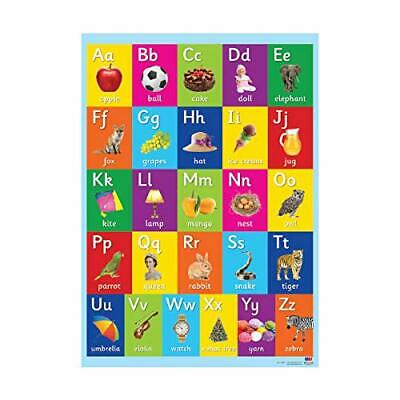 Kids Early Learning Posters For Classroom Alphabet Charts