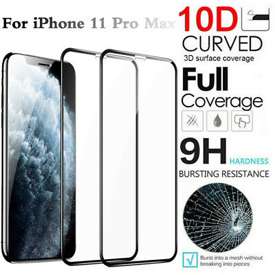For iPhone 11 Pro XS Max XR X Premium HD Tempered Glass Phones Screen Protector