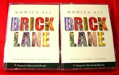 Monica Ali Brick Lane 4-Tape Audio Book Ayesha Dharker Bangladesh/London