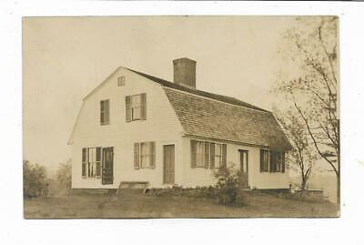 Enfield Connecticut...Home Luther Terry Artist and Captain Abee...RPPC Postcard