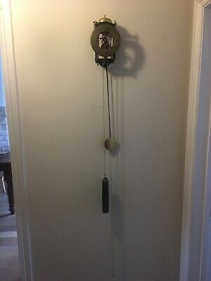 Skeleton Pendulum Clock 7 Seven Day