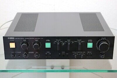 Yamaha C-4 High-End Vorverstärker pre amlifier SUPER KLANG mit PHONO