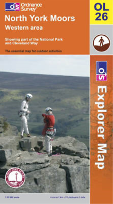 North York Moors: Western Area (Explorer Maps), Ordnance Survey, Used; Good Book