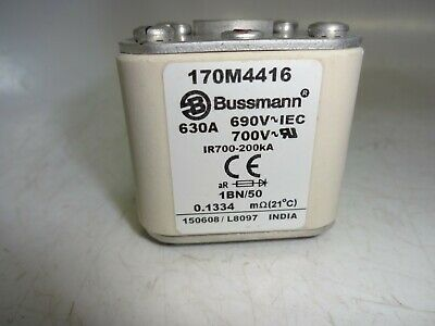 170M4416 Cooper Bussmann Square Body High Speed Fuse, 630A, 690V