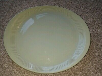 Vintage 1940's Woods Ware Beryl Green Oval Steak Dinner Plate Platter Serving