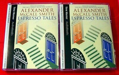 Alexander McCall Smith Espresso Tales 4-Tape Audio Book David Rintoul