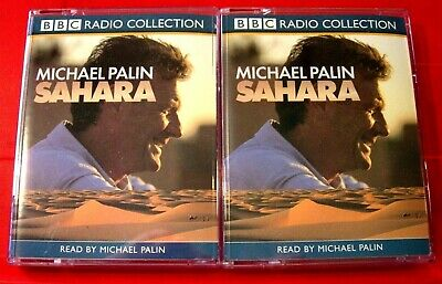 Michael Palin Reads Sahara 4-Tape Audio Book Travel Biography/Desert/Africa