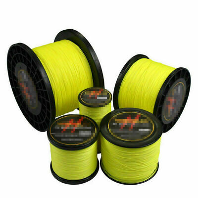 100-1000M Super Strong Yellow Yemulang Spectra Extreme Sea Braided Fishing Line