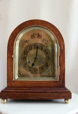 Antique Junghans German Table Clock