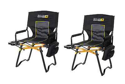 Set of 2 New ARB Compact Directors Chairs - Black - 10500131A
