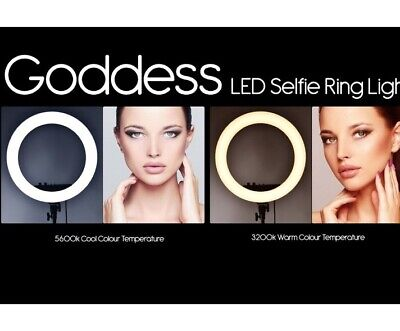Goddess LED Selfie Ring Light