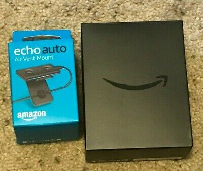Amazon Echo Auto Smart Assistant Amazon Alexa For Car w/ Vent Mount - Never Used