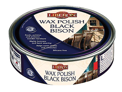 Liberon Bison Paste Wax Antique Pine 150ml - Ideal for small surfaces