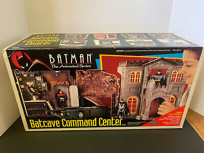 Batman The Animated Series Batcave New in Box Sealed Kenner Rare