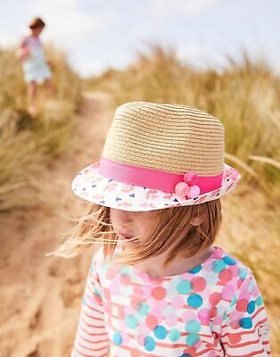 Joules Girls Pandora Trilby Hat in NATURAL Size 3yrin7yr