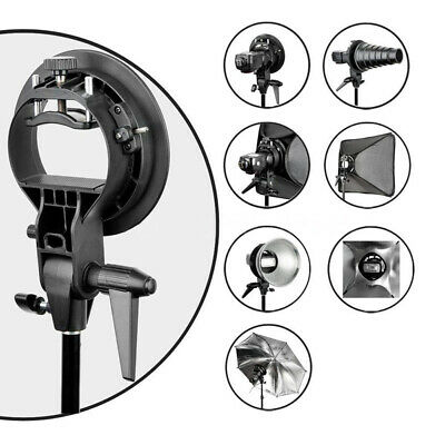 Black Mount Holder Umbrella Snoot Softbox Speedlite Fashion High Quality
