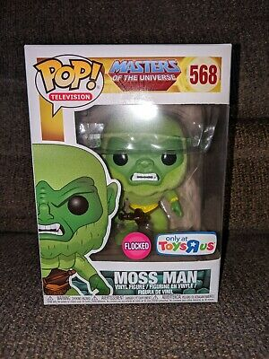 Funko Pop Masters Of The Universe Moss Man Flocked Toys R Us Exclusive #568