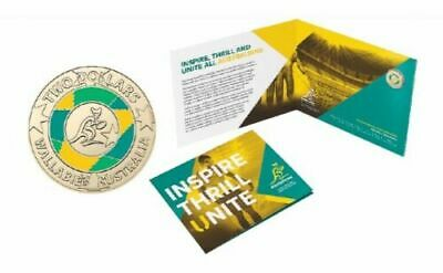 2019 Wallabies Rugby World Cup $2 Coin with Album