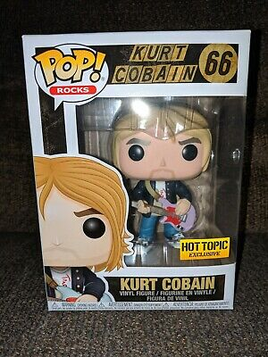 Funko Pop Kurt Cobain Hot Topic Exclusive #66