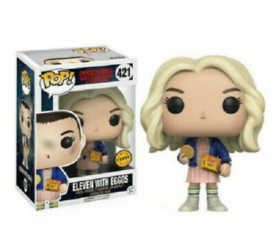 Funko Pop Stranger Things Eleven Eggos CHASE #421 Television Vinyl Figure New