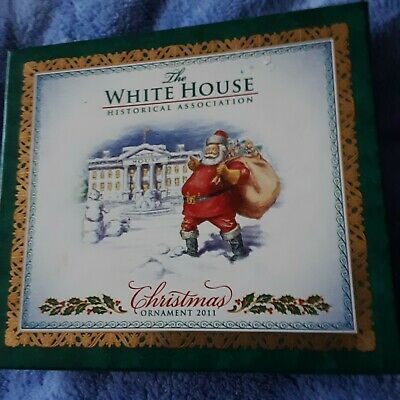 2011 White House Historical Association Christmas Ornament - Theodore Roosevelt