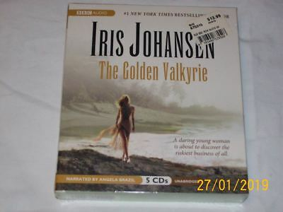 THE GOLDEN VALKYRIE  by IRIS JOHANSEN   (2008, CD, Unabridged)