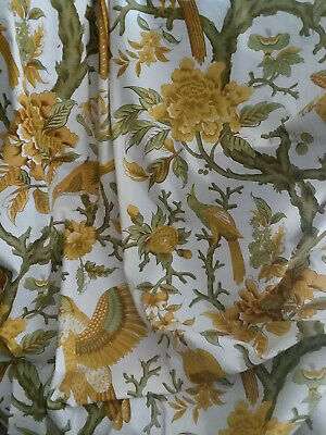 Vintage Colonial Williamsburg Reproduction Fabric 'Anthesis' - Schumacher