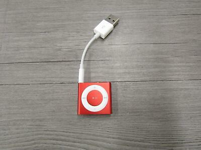 Apple iPod Shuffle 4th Generation 2GB Red MP3 Player