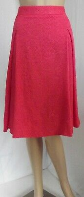 VINCE CAMUTO 16W 18W POMEGRANTES CORAL A-LINE INVERTED PLEAT SKIRT 1x