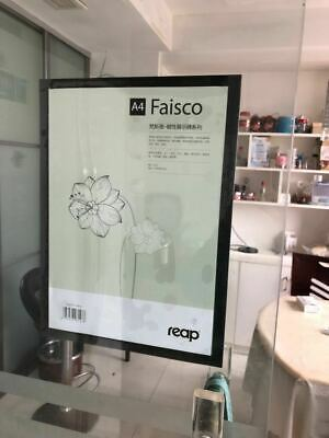A3 Sign holder Windows Display Poster Glass Door Double Sided Adhesive Magnetic