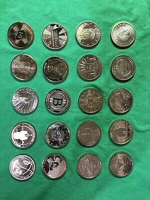 ✳️ Lot of 20 COPPER 1 oz. Rounds. Random Selection. ❤️ Great Starter Set NEW ❤️