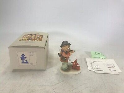"""Genuine MI Hummel """"Puppy Love"""" Figurine 5"""" Tall Complete with Box and Paperwork"""