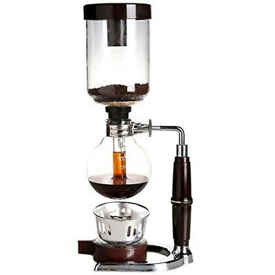 Boeng 5-Cup Coffee Syphon Tabletop Siphon (Syphon) Maker 5 Cups