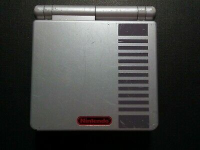 Nintendo Classic NES Limited Edition Game Boy Advance SP Handheld System AGS-001