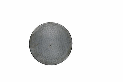 "Cast Iron Surface Plate Round 4"" Dia - Marking Plate Hand Scrapper 100mm - New"