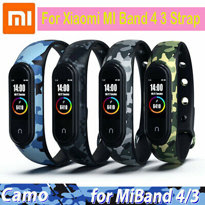 For Xiaomi MI Band 4 3 Strap Replacement Bracelet Silicone Watch & Wristband Sy