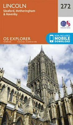 Lincoln by Ordnance Survey (Sheet map, folded, 2015)