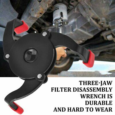 Three-Jaw Filter Wrench Change Machine Oil Grid Filter Wrench Oil Core TY