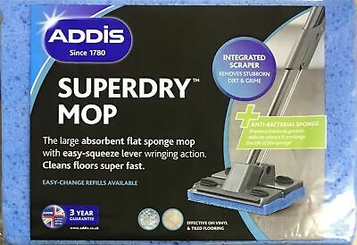 Addis Superdry Mop Pad Refill Cellulose Sponge Pick Your Required Quantity