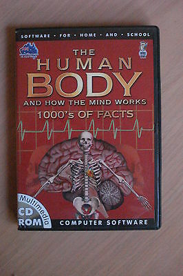 +The Human Body... Pc Cd-Rom  (As New) Aussie Seller {Nodtronics]