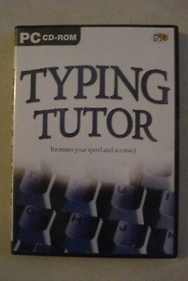 + Typing Tutor [Pc Cd-Rom] By Gsp - Brand New [Aussie Seller