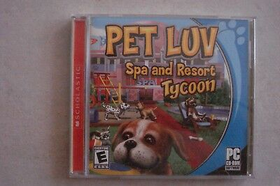 + Pet Luv Spa And Resort Tycoon (Pc Cd- Rom) As New (Aussie Seller)