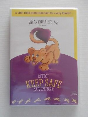 + Ditto's Keep Safe Adventure Pc Cd-Rom (New Sealed) Bravehearts Inc