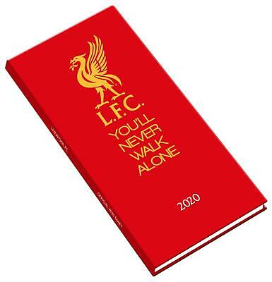 Diary Liverpool FC Official Slim 2020 Booklet Premier League Football Soccer